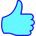 favorite, hand, like, thumbs, up, vote, votes icon