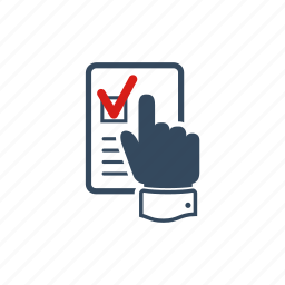 check mark, checkbox, elections, parliament, political, president, voting icon