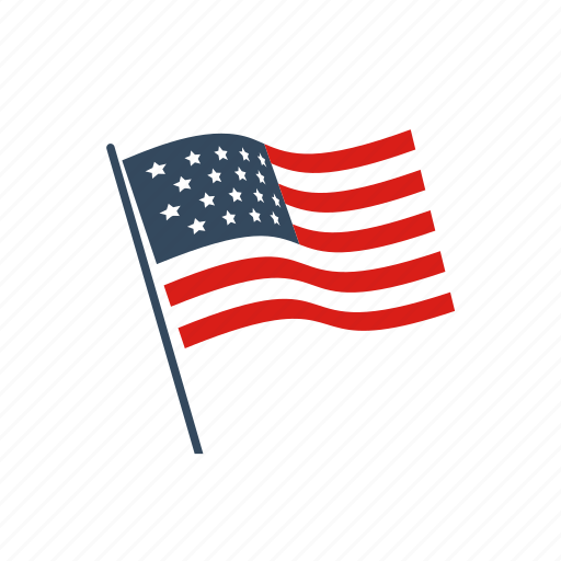american, elections, flag, parliament, political, president, voting icon