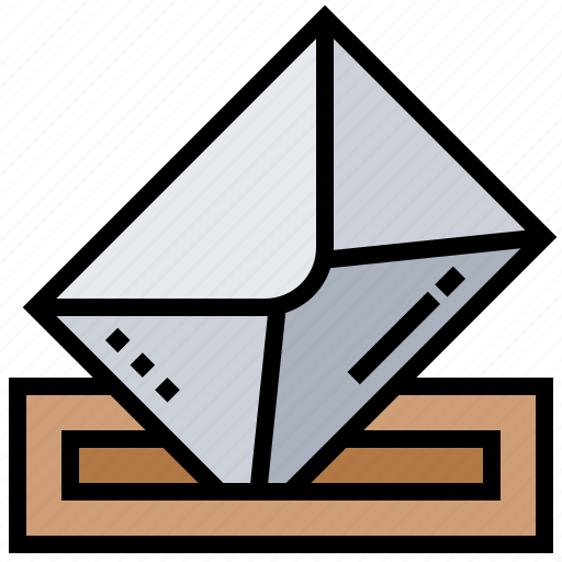 Advanced, ballot, election, pre, voting icon - Download on Iconfinder