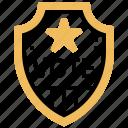 badge, elect, patriotic, political, shield