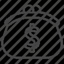 finance, money, savings, wallet icon