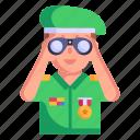 field glasses, military binoculars, spyglass, lorgnette, opera glasses