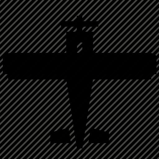 aeroplane, airplane, fly, plane, propeller, war, warplane icon