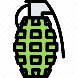conflict, grenade, military, soldier, war, weapon icon