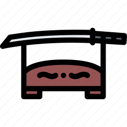 conflict, katana, military, soldier, war, weapon icon