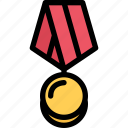conflict, medal, military, soldier, war, weapon icon