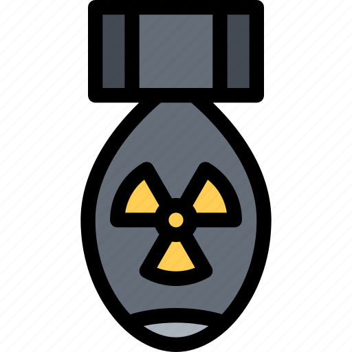 bomb, conflict, military, nuclear, soldier, war, weapon icon