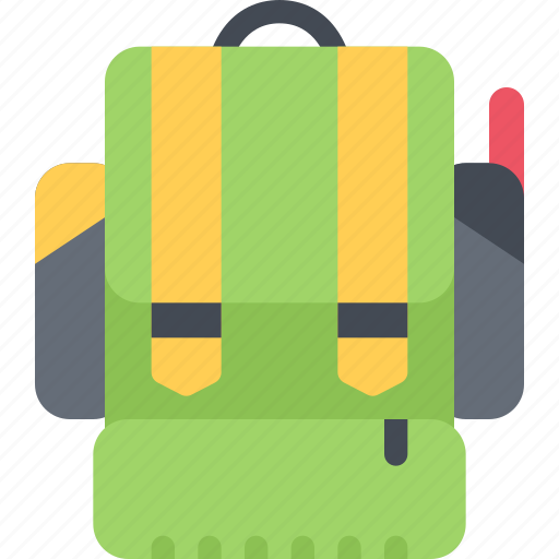 backpack, battle, fighter, soldiers, war, weapons icon