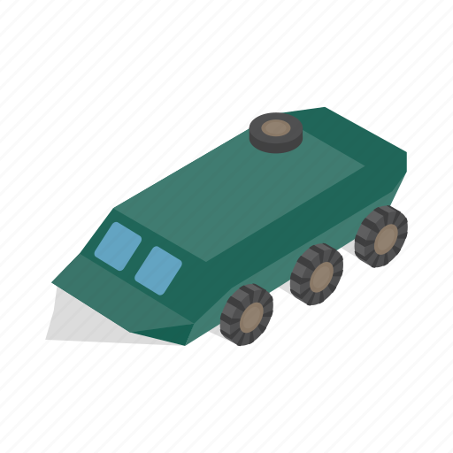 armored, army, infantry, isometric, military, vehicle, war icon