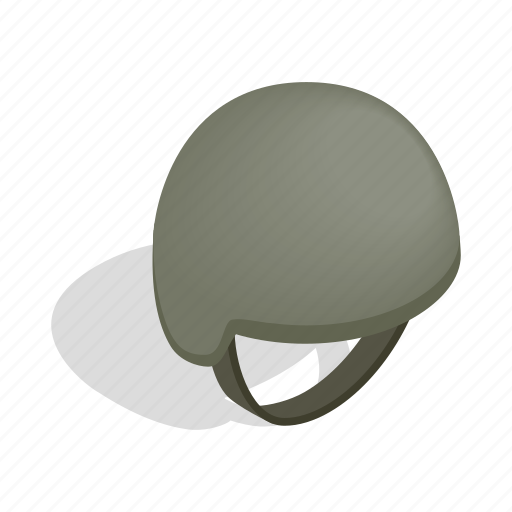 armed, army, helmet, isometric, military, soldier, war icon