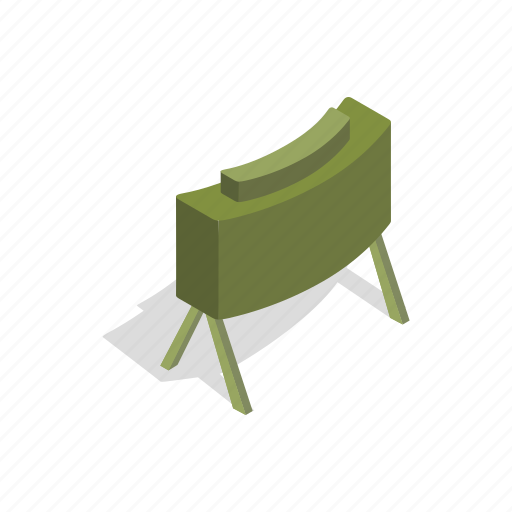 attack, bomb, combat, infantry, isometric, safety, war icon