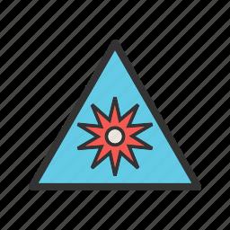 burst, lines, optical, point, radial, radiating, shapes icon