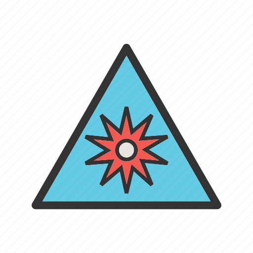 burst, lines, optical, point, radial, radiating, shapes icon