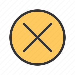 caution, cross, enter, line, no, police, tape icon