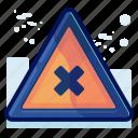 alert, cancel, danger, delete, sign, warning