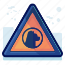 alert, animal, danger, dog, sign, warning icon