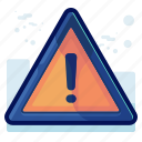 alert, danger, error, sign, warning icon