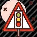 attention, direction, light, map, traffic, warning