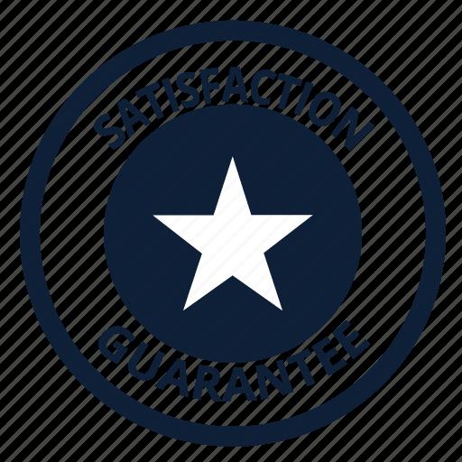 best, good, guarante, safe, satisfaction, star, warranty icon