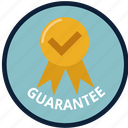 check, creative, guarantee, safe, satisfaction, store, warranty icon