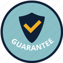 guarantee, protect, protection, safe, shield, warranty, website icon