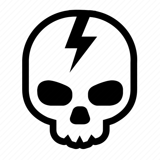 Alt, cod, cracked, dead, head, skeleton, battlefield icon - Download on Iconfinder