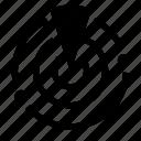 cod, ping, radar, uav, warzone icon