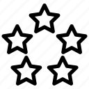 alt, award, cod, stars, warzone icon