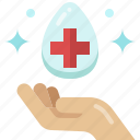 civid19, hand, clean, medical, hygienic, hygiene, healthcare icon