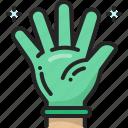 medical, hand, hygiene, latex, glove, rubber, sanitary