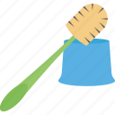 bathroom broom, cleaner, cleaning pipe, domestic cleaning, toilet brush icon