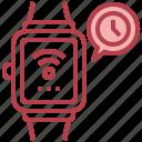 smart, watch, electronic, device, electronics, digital, wifi