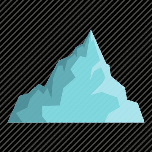 antarctic, antarctica, arctic, cold, ice, iceberg, mountain icon