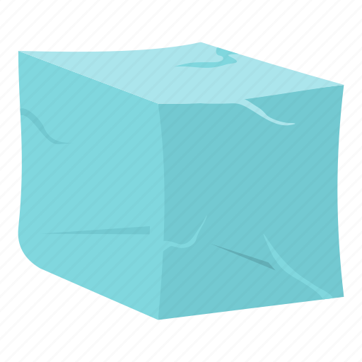 bar, clean, clear, cold, cube, ice, melted icon