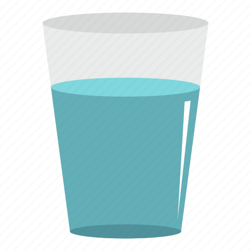 clean, drink, drinking, drop, glass water, liquid, nature icon