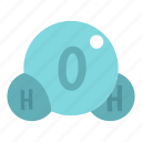 clean, drink, drinking, drop, liquid, nature, water molecule icon