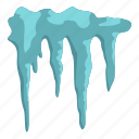 blue, christmas, cold, cool, crystal, icicle, icicles icon