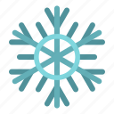 blue, cold, crystal, flake, freeze, frost, snowflake icon