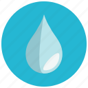 drop, fall, shadow, water icon