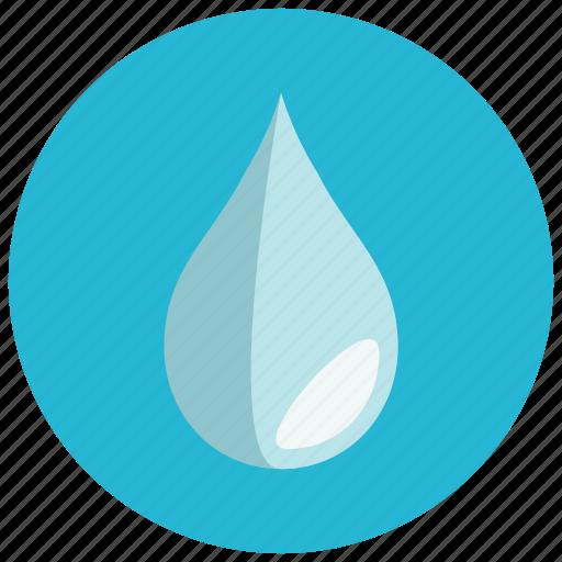 drop, fall, shadow, water icon