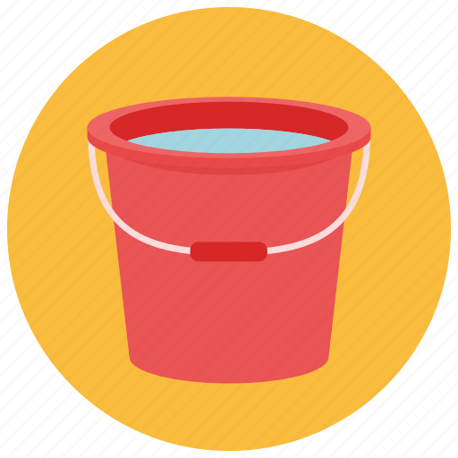 bucket, collect, guardar, save, water icon