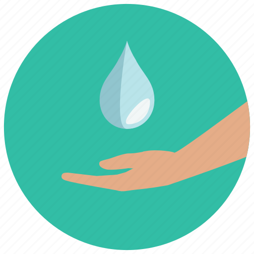 clean, drop, guardar, hand, hygiene, save, wash, water icon