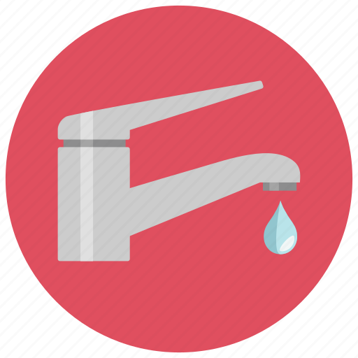 drop, kitchen, sink, tab, water icon