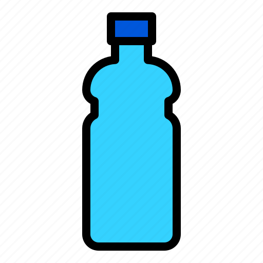 beverage, bottle, container, drink, plastic icon