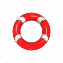 cartoon, design, element, illustration, lifeline, sea, sign icon