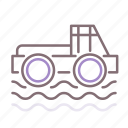 buggy, race, racing, swamp icon