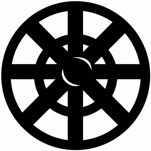 gear, helm, pipe, sternwheel, supply, water, wheel icon