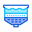 filtration, system, treatment, water icon