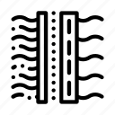 filter, treatment, water icon